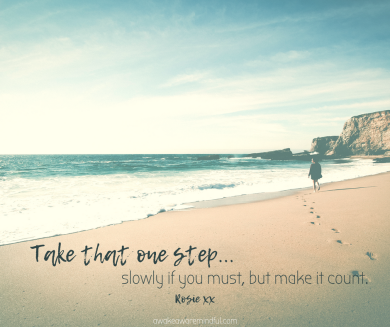 Take that one step